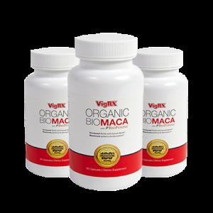 VigRX Organic BioMaca with Bioperine - Fight Hormone Loss